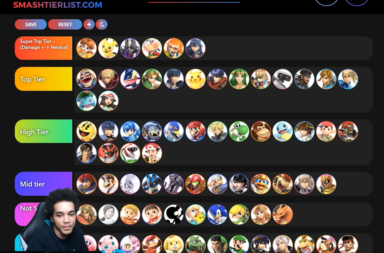 Super Smash Bros Ultimate Tier List for Patch 2.0 by VoiD
