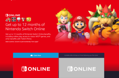 How to get Nintendo Switch Online FREE for 12 months via Amazon Prime