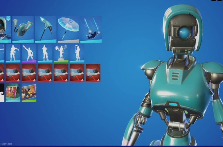 Fortnite Robo-Ray Pack